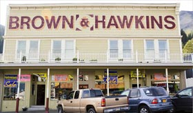 Brown & Hawkins Store Frontage